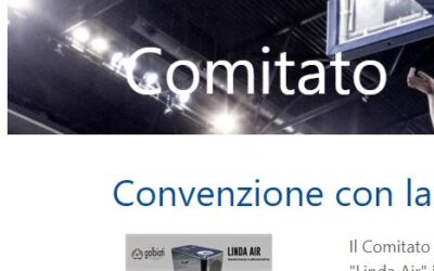 FIP Lombardia has awarded the quality of Galbiati by choosing Linda Air